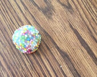 Rainbow Sprinkles Floam Slime 8oz