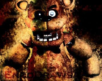 Freddy Fazbear Wallpaper!