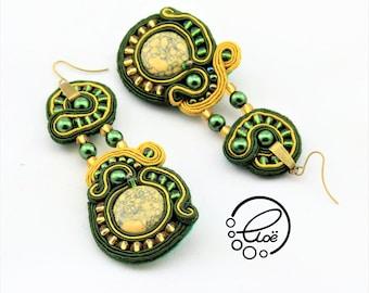 Vert Earrings