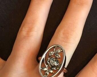 Vintage AVON Rose Ring 1970s