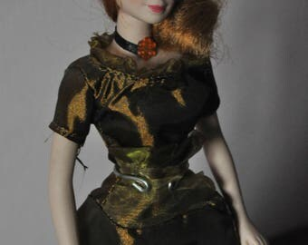 Porcellain Doll Vintage Victorian Age Collection Doll