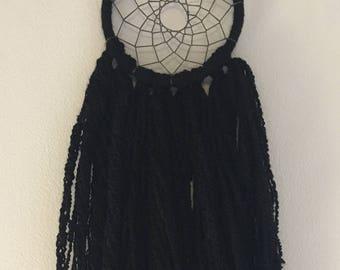 """The """"Jolie"""" - Simple Black Dreamcatcher"""