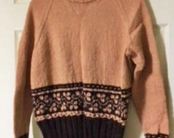 wool alpaca sweater pullover