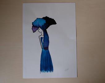 Blue melancholy