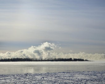 Ice Fog Horizon