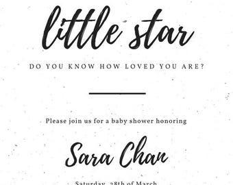 Star baby shower