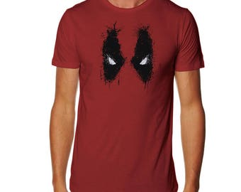 Splatted Violence T-shirt - Deadpool shirt -Merc t-shirt - Wade Wilson shirt - Superhero tshirt - Merc with a mouth shirt - Mercenary shirt