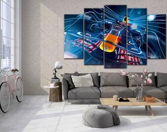 F1 wall decor, Formula 1  poster, F1, Formula 1 print, Multi Panels Set, Supercar print, Formula 1  wall art, Supercar art, gift for him