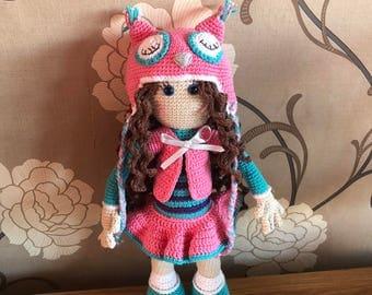 Handmade Crochet Doll