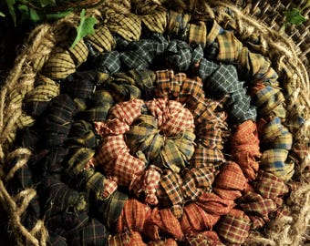 Americana Crocheted Homespun Trivets