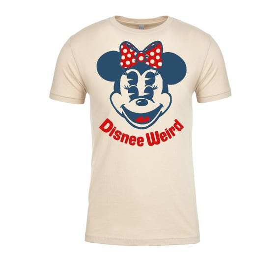 Disnee Weird Minnee T Shirt in Cream