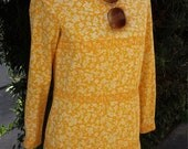 Golden Slumbers Sweet 60s Minidress by The Villager