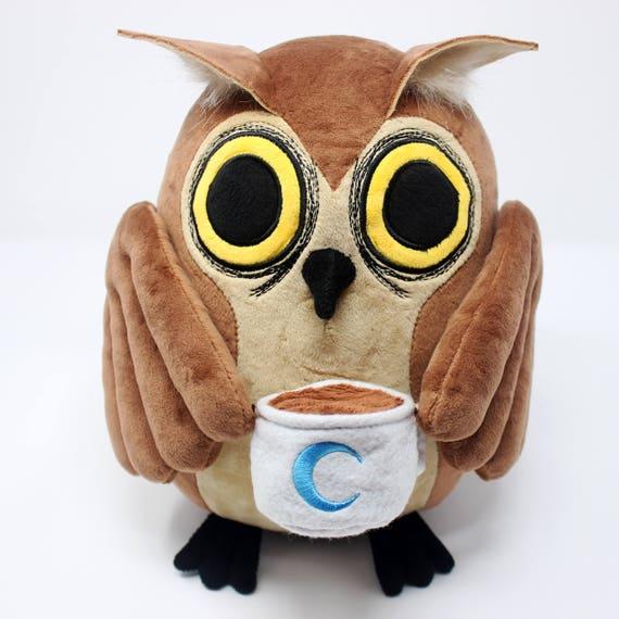 Edgar the Night Owl Plush Doll
