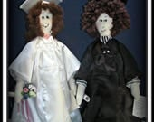 2 in 1 Anna & James Graduation Dolls Combo E-Pattern