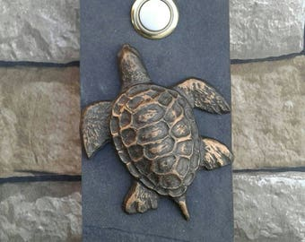 Sea Turtle Doorbell Wired Oil Rubbed Bronze