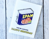 SPAM Birthday Card