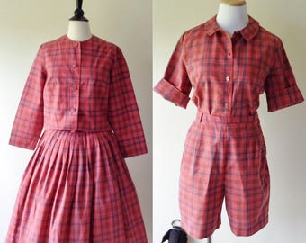 Queen Casuals 4 Piece Mix and Match Set | 1950s-60s
