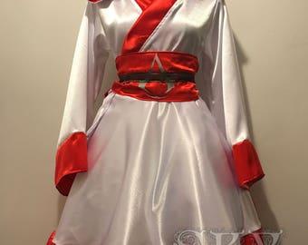 Ezio Kimono Satin