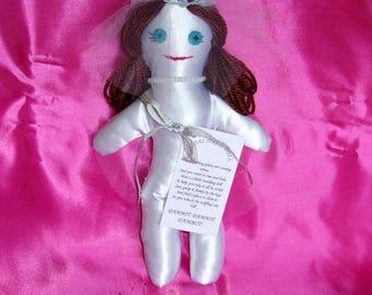 Bride Wedding Stress Relief Doll