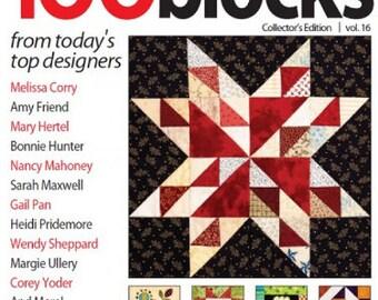 Quiltmaker's 100 Blocks Magazine, Winter 2017, Volume 16