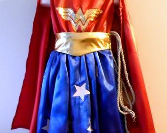 WonderWoman Superhero Dress