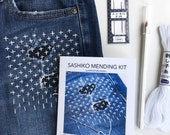 Sashiko Mending Kit - a DIY guide to decorative, functional patching by hand