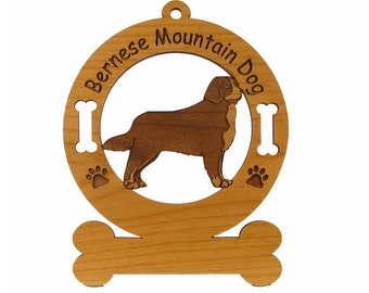 1727 Bernese Mountain Dog Personalized Ornament