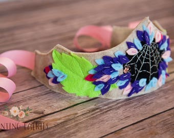 Hydrangea and company Fairy Crown for Pretend Play