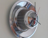Chevy Rally Hubcap Clock No. 2534