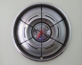 1970-71 Dodge Charger Hubcap Clock No. 2526