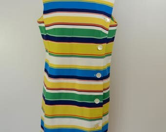 Vintage NANCY GREER New York mod dress 1960's