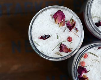 Winter Pomegranate Botanical Bath Salts SAMPLE