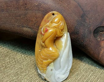 OOAK Mermaid in Amazonite