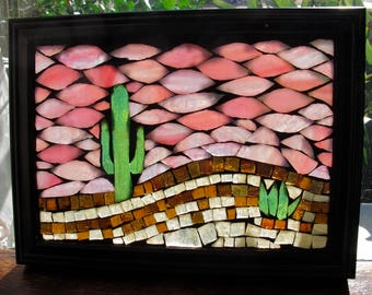 The Sonoran Desert II, Mini-Mosaic