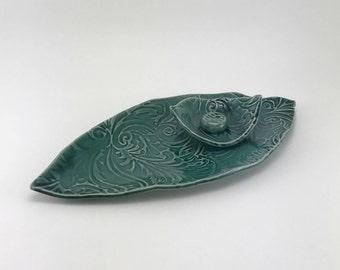 Handmade Sushi Set, Ceramic Sushi Set, Handmade Pottery, Tableware, Serving Platter