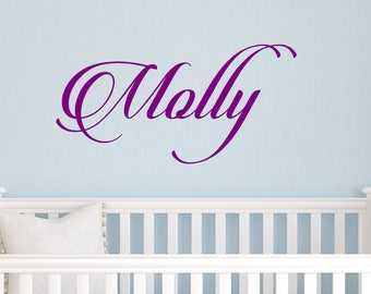 Nursery Decal, Personalized Decal, Name Decal, Princess Decal, Child's Room Decal, Girl's Room Decal, Kids Room Decal