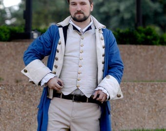 Colonial Hamilton Coat and Vest