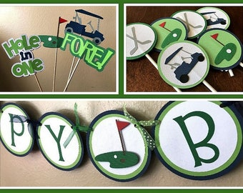 Golf Party Package, Golf Birthday Party, Golf Shower, Golf Retirement Party, Boy Golf Party, Birthday Party Package, Golf Party Decorations
