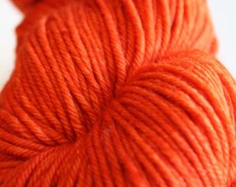 Rios - Malabrigo - Glazed Carrot 016 - Pure - Merino - Wool - Worsted Weight - Superwash - Yarn - Hand Dyed