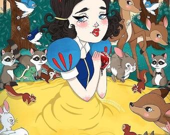 A4 Snow White