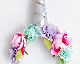 Unicorn Garden Headband
