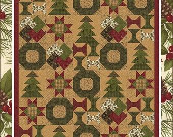Christmas Sampler Quilt Pattern - Christmas Quilt Pattern - Coach House Designs CHD-1331