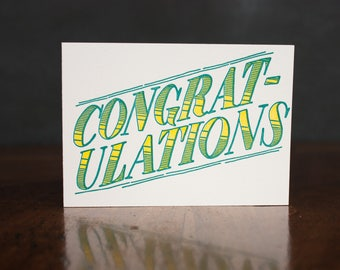 Congratulations - Card
