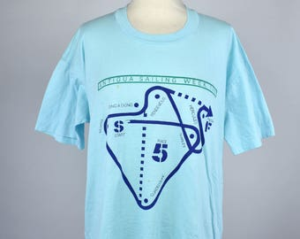 1987 Antigua Sailing T-Shirt