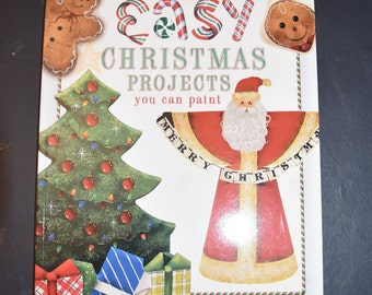 CLEARANCE /// BOOK /// Easy Christmas Projects you can Paint, 13 projects plus basic techniques, New