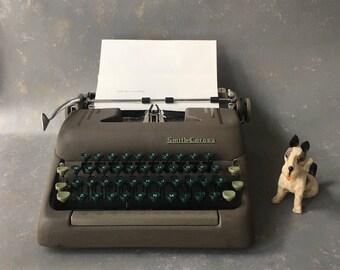 Vintage Typewriter Smith Corona, Silent, Manual, Portable