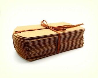 Set of 20 Pillow Boxes – 20 Kraft Pillow Boxes - Wedding Favor Boxes - 3.5 x 3 x 1 - Kraft Gift Boxes