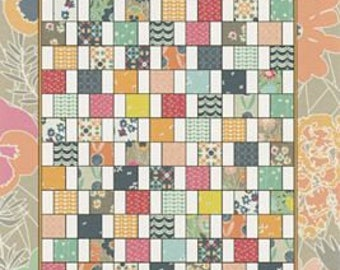 "QUILTING FUN (Quilt Pattern) - ""OFFSET"" - Design by Jeni Baker"