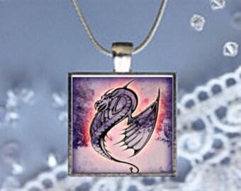 Pendant Necklace Dragons