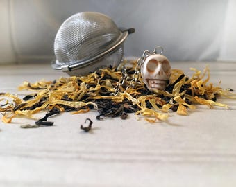 "Nightmare Before Christmas Inspired Tea Ball // Tea Infuser // Looses Leaf Tea Infuser // ""tea lover"" Gift //  Tea Christmas Gift"